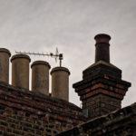 En ville - Portrait de cheminée