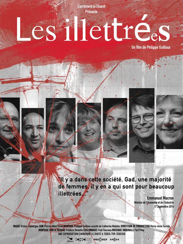 Affiche du film Les illettrées réalisé par Philippe Guilloux