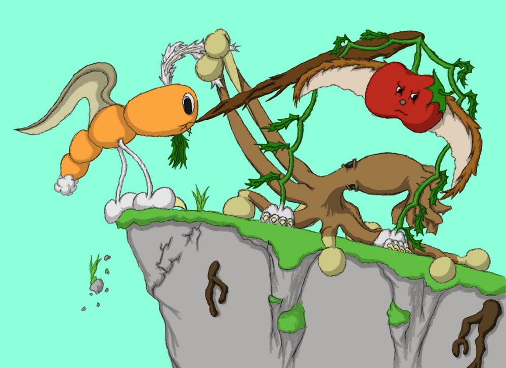 Illustrations d'histoires pour enfants et adultes (Glapinou, Splurfy, Poilpeau...)