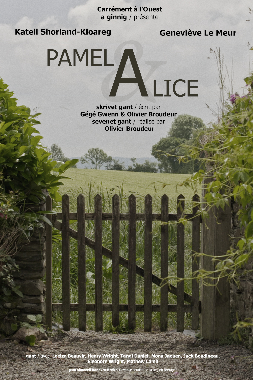 Affiche du film Pamela et Alice réalisé par Olivier Broudeur // Création graphique : Baptiste Leroy