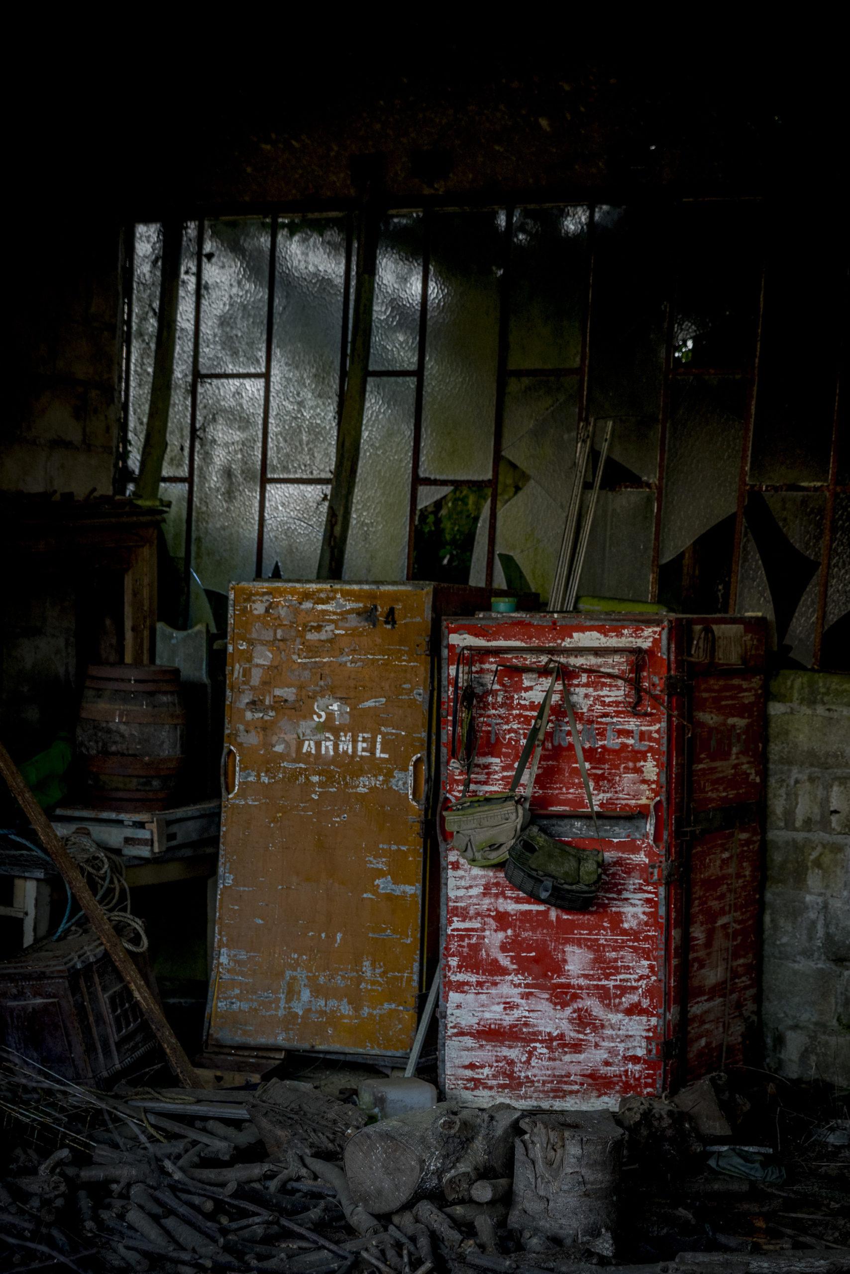 ancien magasin dans les rues de Cléguérec
