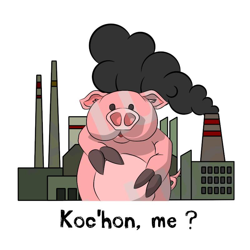Koc'hon, me ?