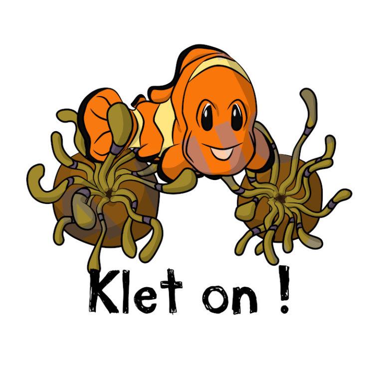Klet on ! - Visuel réalisé pour des t-shirts en breton (#bzhg, èl rezon !)