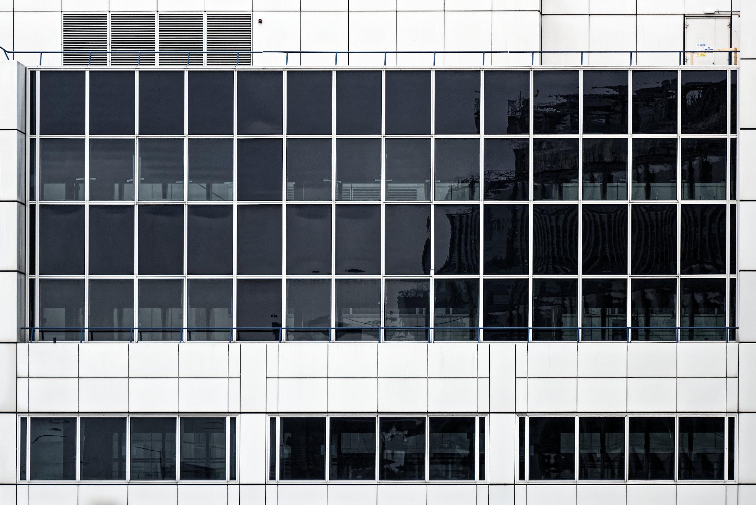 Façade d'une entreprise à Londres en 2016
