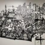 DéDalE (Vannes) - rez-de-chaussée (rdc) - saison 2 (2020) - Street artist : Semor