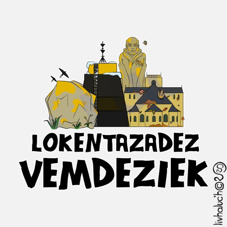 Lokentazadez vemdeziek - Visuel réalisé pour des t-shirts en breton (#bzhg, èl rezon !)