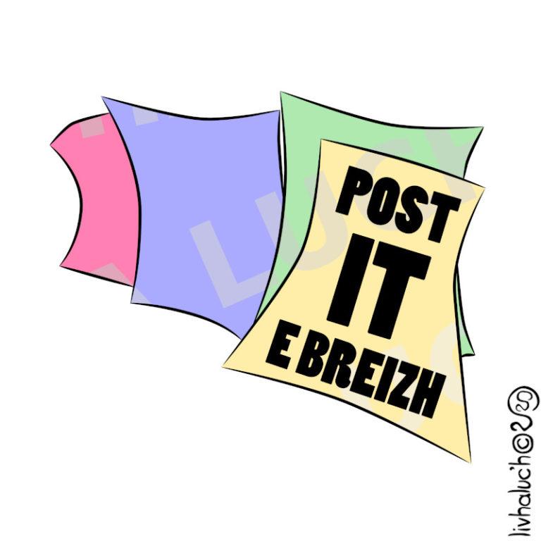 Post-it e Breizh !
