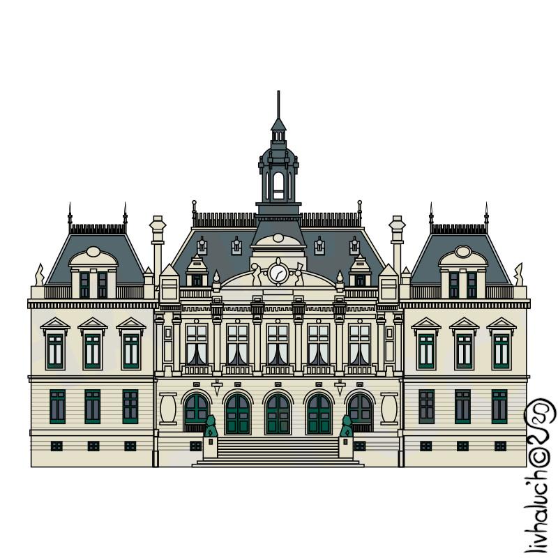 L'hôtel de ville de Vannes