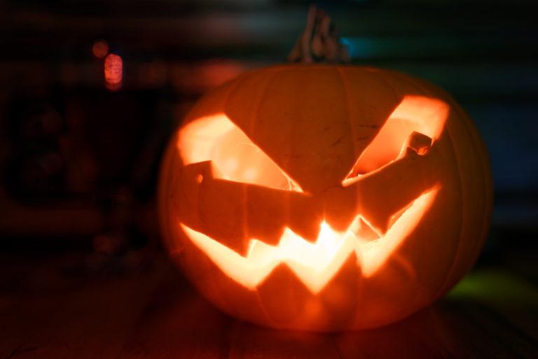 Illustration pour les fêtes de Samhain / Samain ou Hallooween